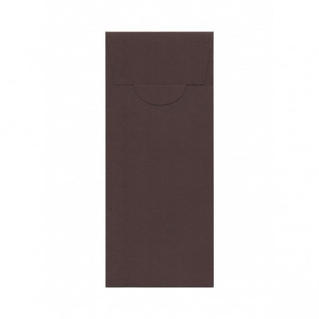 Luxury Pocketfold Invitation 105x210 mm, kraft paper