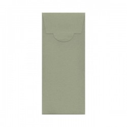 Buste di carta design 100x200 mm colore kraft verde gris