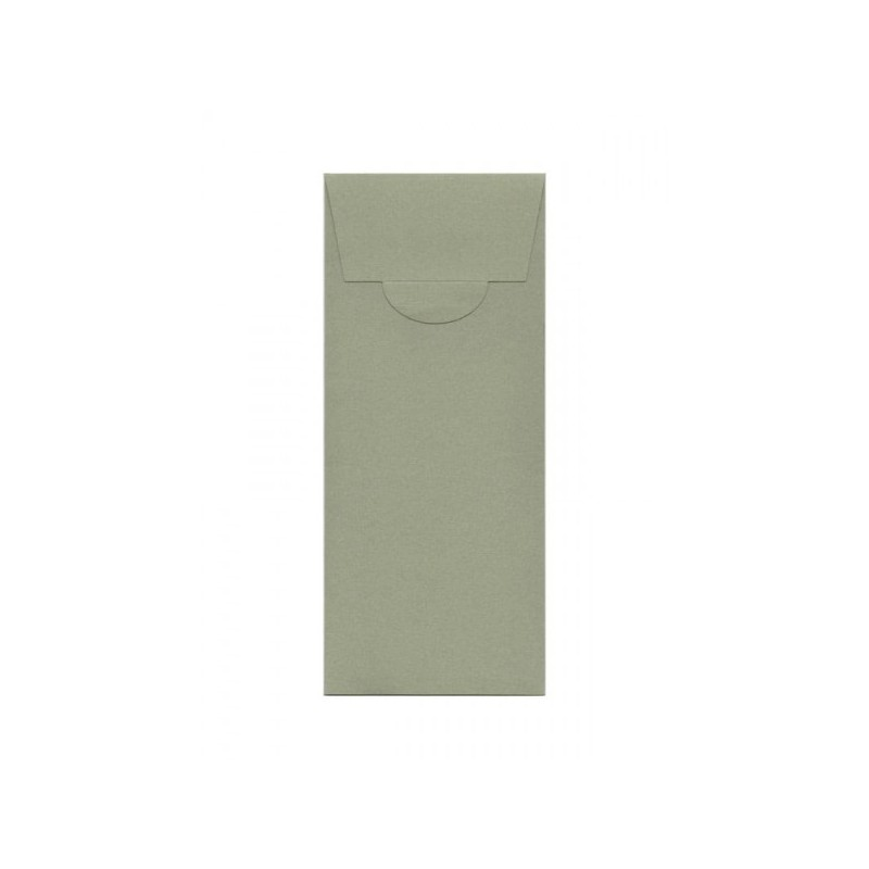 Buste di carta design 100x200 mm colore kraft verde