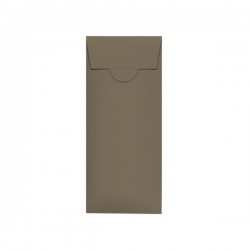 Elegant Square Pocketfold 140 mm, kraft paper
