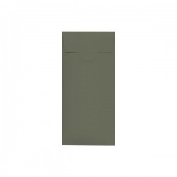 Kraft Acqua Exclusive rectangular Pocketfold Invite 110x170 mm