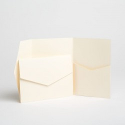 Flat verde gris envelope 140mm