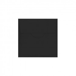 Blu matte rectangular Wedding Invitation 120X180 mm