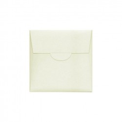 Sapphire Pearlescent rectangular Wedding Pocketfold 120X180 mm