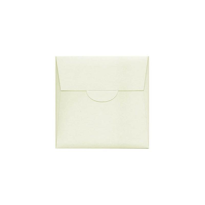 Partecipazione Matrimonio quadrata 130 mm perla