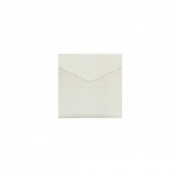 Azure matte Square Wedding Invitation 150 mm