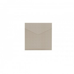 Kraft Square Pocketfold Invite 150 mm