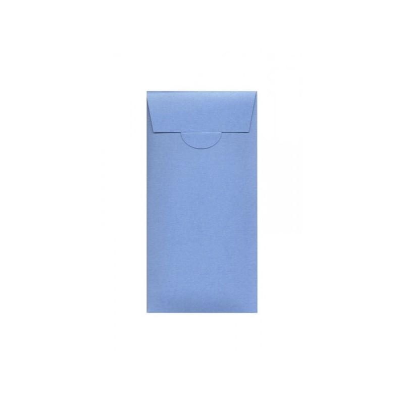 Buste o Invito di Compleanno,Feste,Party pocket, misure 110x220 mm colore zaffiro