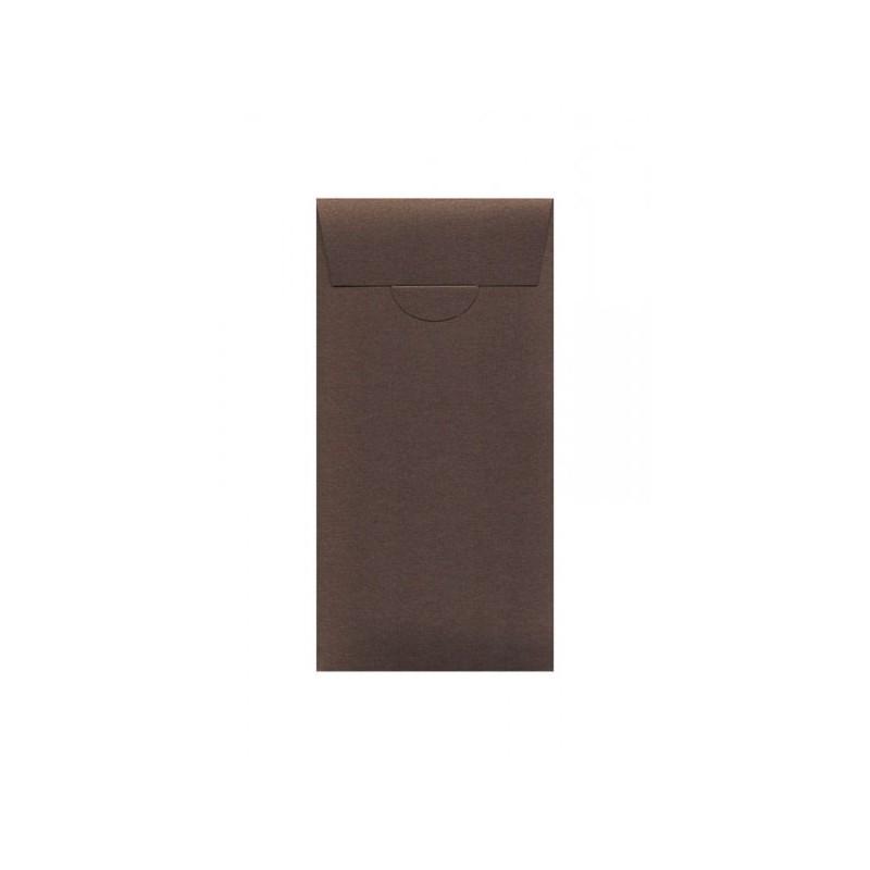 Buste o Invito di Compleanno,Feste,Party pocket, misure 110x220 mm colore bronzo