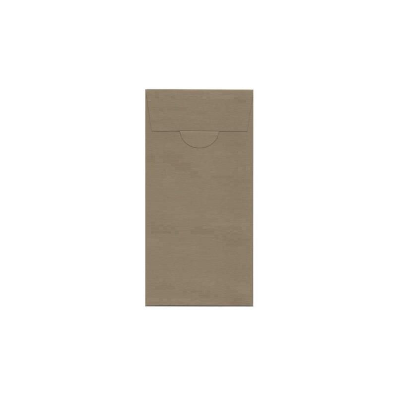 Buste o Invito di Compleanno,Feste,Party pocket, misure 110x220 mm colore antracite