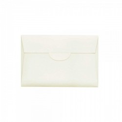 Kraft ribbed square envelope